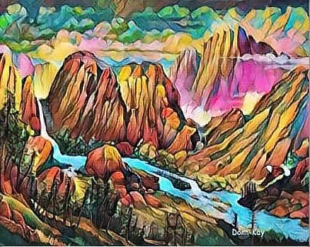 Castle Rock by Donn Kay