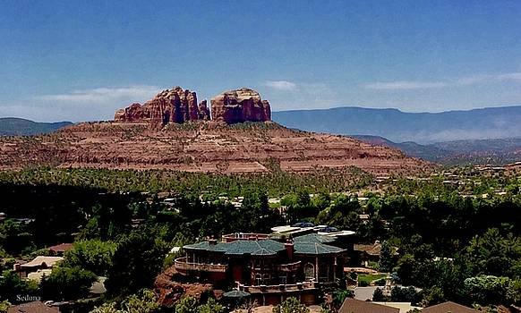 Castle Rock Sedona by Lorna Maza
