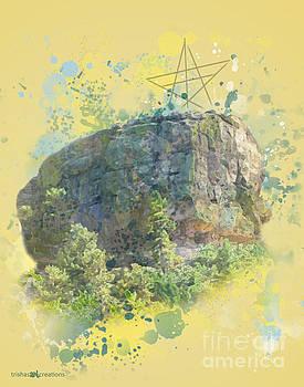 Castle Rock Splatter by Trisha French