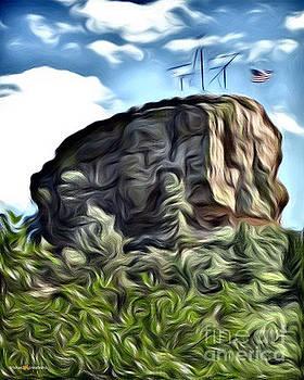 Castle rock wavy by Trisha French