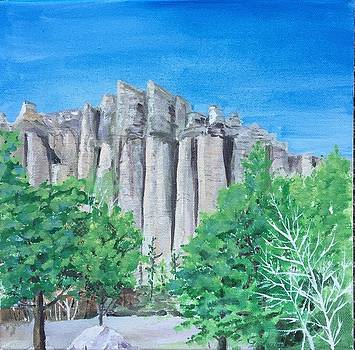 Castle Rocks by Christine Lathrop