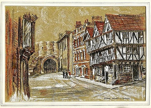 Castle Square Lincoln by SJV Jeffery-Swailes