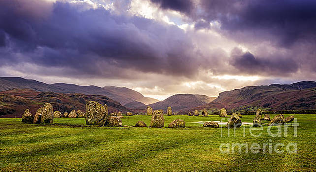 Castlerigg Stone Circle 1 by Tony Priestley