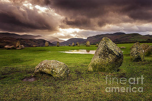 Castlerigg Stone Circle 2 by Tony Priestley