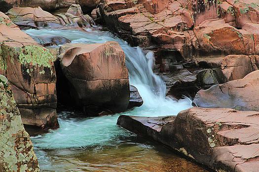 Castor River Cascade 1 by Greg Matchick