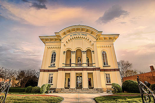 Caswell County Courthouse by Cynthia Wolfe