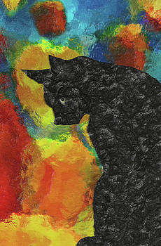 Cat Abstract by Jack Zulli