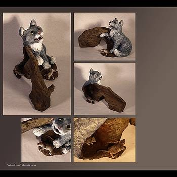 Katherine Huck Fernie Howard - Cat and Mice alternate views