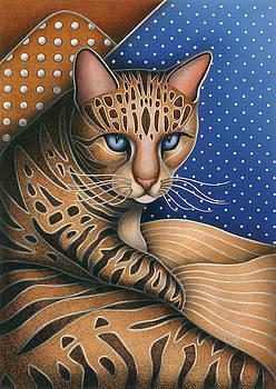 Cat Andrea by Carol Wilson