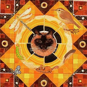 Cat Dreams by Sandy Thurlow