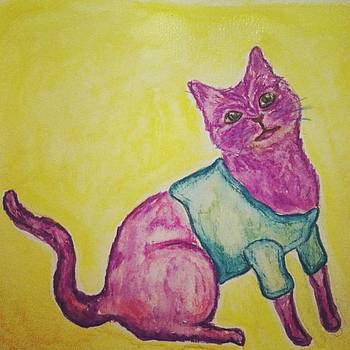 Cat In A Sweater Is Option 2 by Karen Bosquez