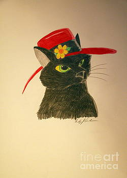 Cat in the Red Hat by Wendy Coulson