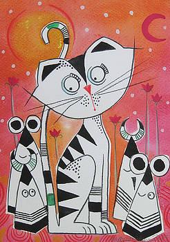 Cat by Johanna Virtanen