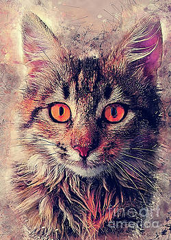 cat Jok by Justyna JBJart
