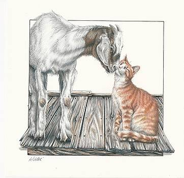 Cat Kiss by Katie McConnachie