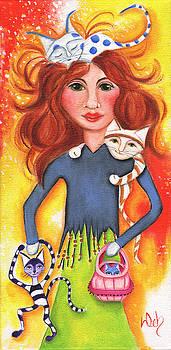 Cat Lady by Deb Harvey