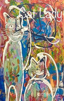 Cat Lady by Jacqui Hawk
