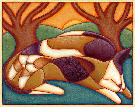 Cat Nap by Mary Anne Nagy