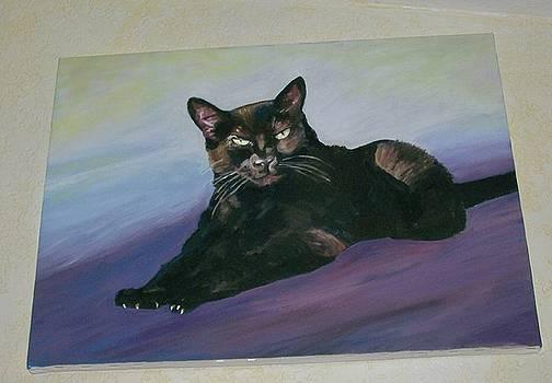 Kathleen Heese - Cat Portrait