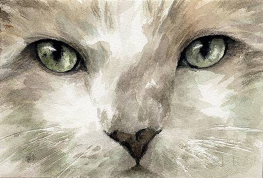 Cat Specific Disdain by Rachel Christine Nowicki