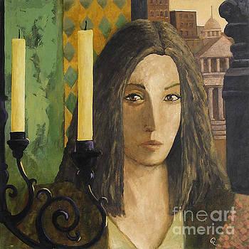 Catalan Woman by Glenn Quist