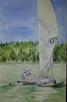 Catamaran by Lou Baggett
