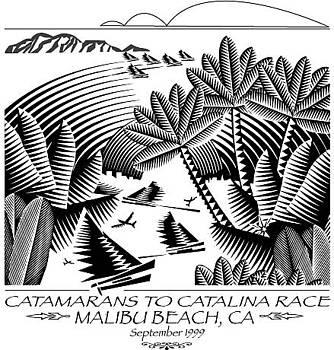 Catamarans to Catalina Race by John Mabry