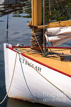 Catboat Bow by Joe Geraci