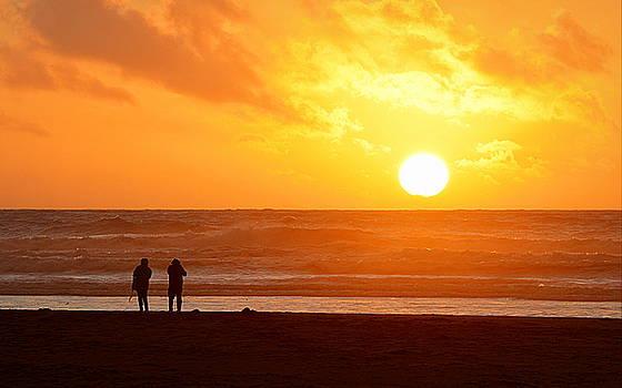 Catching a Setting Sun by AJ Schibig