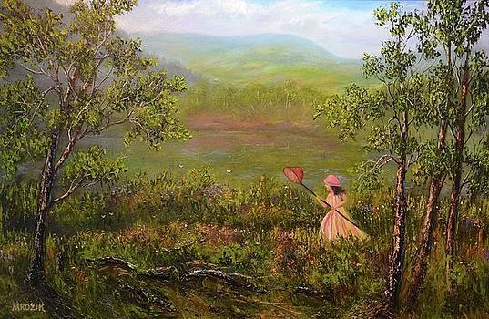 Catching Butterflys by Michael Mrozik