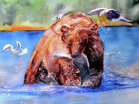Catching Dinner by Lynne Atwood