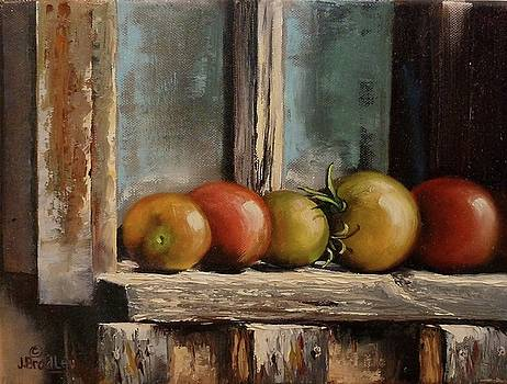Catching Summer Rays by Judy Bradley