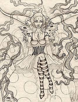 Caterpillar Silence Sketch by Coriander Shea