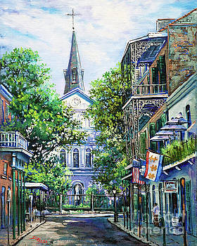 Cathedral at Orleans by Dianne Parks
