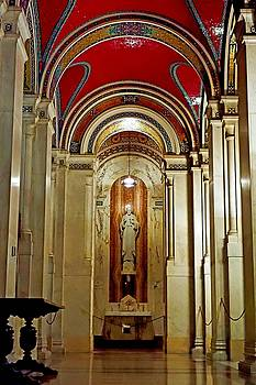 Robert Meyers-Lussier - Cathedral Basilica of Saint Louis Interior Study 6