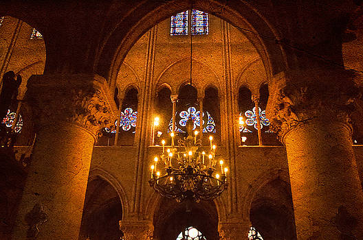 Mick Burkey - Cathedral Chandelier