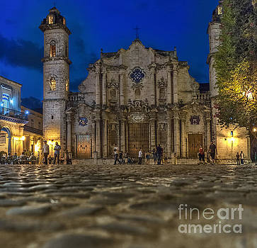 Cathedral Havana by Jose  Rey