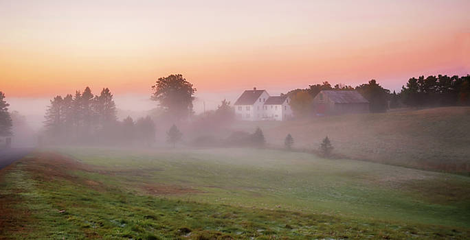 Cathedral House Sunrise by Gordon Ripley