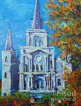 Cathedral in Autumn by Beverly Boulet