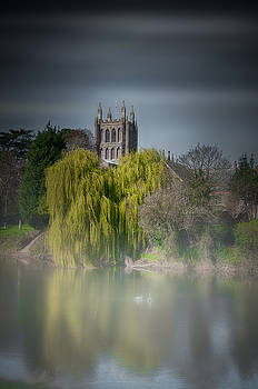 Cathedral in the Mist by Christopher Francis