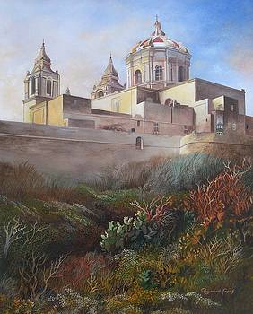 Cathedral Mdina by Raymond Frans