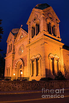Bob Phillips - Cathedral of St. Francis of Assisi at Night