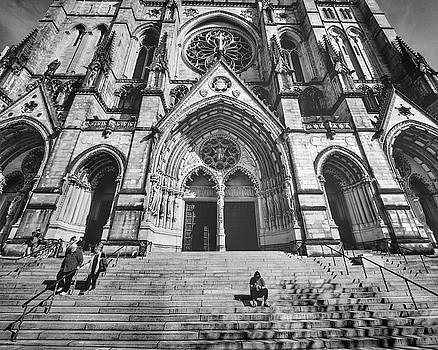 Cathedral of St. John the Devine New York by Cameron Dixon