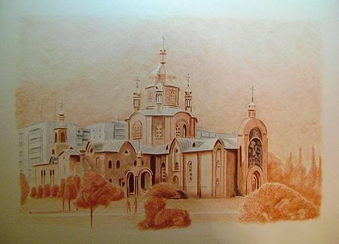 Cathedral by Oleg Kozelskiy