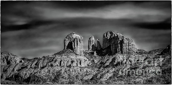 Cathedral Rock by James A Crawford