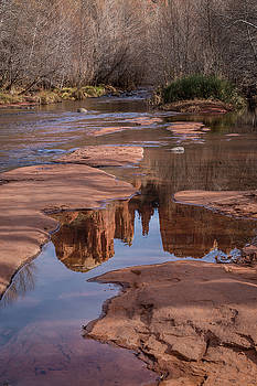 Rick Strobaugh - Cathedral Rock Reflection