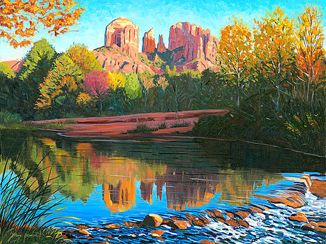 Cathedral Rock - Sedona by Steve Simon