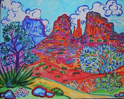 Cathedral Rock View by Rachel Houseman