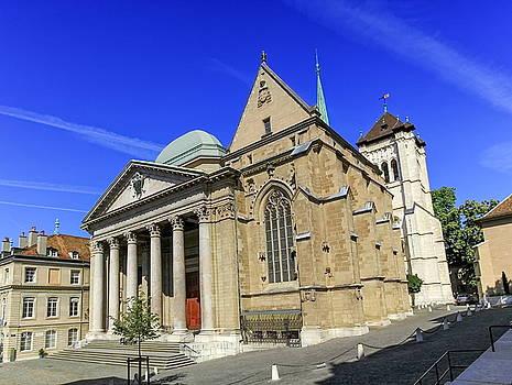 Elenarts - Elena Duvernay photo - Cathedral Saint-Pierre in the old city, Geneva, Switzerland