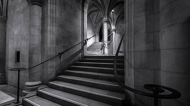 Cathedral Stairwell by Michael Donahue